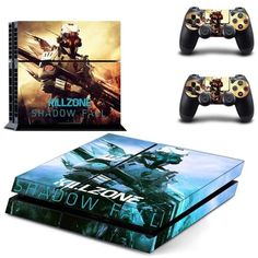 Killzone shadow fall Skin for PlayStation 4 Console and Controllers