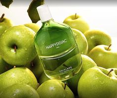 Feel your happiness soar with the bliss-inducing scent of new Happydisiac Man. It's the ultimate way to express your irresistible zest for life!  The scent delights with effervescent and optimistic top notes of caviar lime accord for intense freshness, combined with mandarin and juicy green apple. Its masculine, multi-faceted heart features a robust ozonic accord, balanced with coriander seeds and strawberry accord – a combination guaranteed