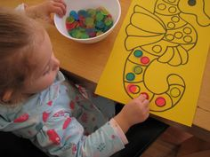 Counting and Subitising Activities 8. Great page for 2-3 year olds