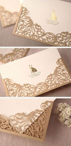 When you are inviting people to a wedding, bash, get together or other occasion, it is proper to send an invitation to the person. It's very simple to place the invitations in a printed envelope to. Trendy Wedding, Diy Wedding, Dream Wedding, Wedding Day, Wedding Stationary, Wedding Invitation Cards, Wedding Cards, Invites, Wedding Silhouette