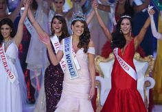 Miss South Africa, 22-year-old medical student, Rolene Strauss emerges as Miss World 2014, beauty with brains.  #worldnews #trending #news #socialmedia #socialmediamarketing #missworld2014 #southafrica #beauty #socialglims