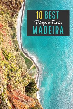 10 Amazing Things to Do in Madeira (Portugal) - Atlas Trekker Europe Travel Outfits, Europe Travel Guide, Travel Guides, Things That Bounce, Things To Do, Before Sunset, Travelogue, Marine Life, Travel Photos