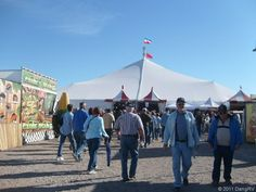The Big Tent at Quartzsite