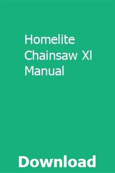 28 Best Homelite Chainsaw Parts images in 2017 | Homelite chainsaw
