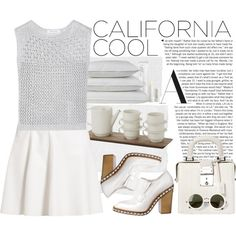 """""""All White Everything"""" by crblackflag on Polyvore"""