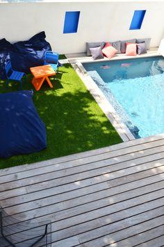 Une terrasse Pop par Slowgarden