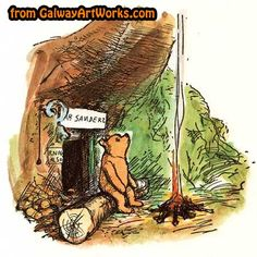 WP42 - Winnie the Pooh's house in the Forest...