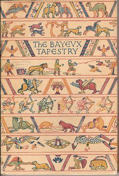 The Bayeux Tapestry - King Penguin book cover The Bayeux Tapestry is an embroidered cloth, which is instead woven—nearly 70 metres (230 ft) long, which depicts the events leading up to the Norman conquest of England concerning William, Duke of Normandy, and Harold, Earl of Wessex, later King of England, and culminating in the Battle of Hastings