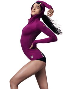 NIKE    A Nike Women's retail campaign featuring Olympic Track and Field athlete, Allyson Felix and Nike dance athlete Sophia Boutella. The campaign emphasizes the beauty and strength of Nike's female athletes as well as the design of the Nike PRO product.