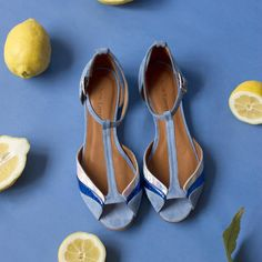 Style Pippa in blue notes #newlovers #newloversshoes #madeinspain #instagood #instadaily #shoeswelove #shoes #sandals