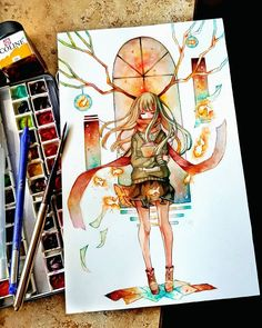 Marvelous Learn To Draw Manga Ideas. Exquisite Learn To Draw Manga Ideas. Colorful Art, Art Painting, Character Art, Anime Drawings Sketches, Drawings, Cute Art, Cute Drawings, Anime Drawings, Kawaii Art