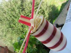 Millerighe di fragola e mousse di cioccolato bianco - i dolci di pinella