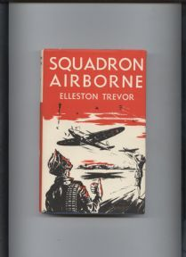 Vintage RAF Hard Back Book with DJ Squadron Airborne by Elleston Trevor Circa 1950s £30 #FollowVintage