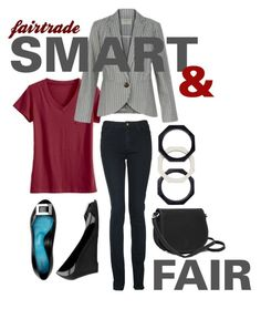 """""""Smart & Fair"""" by fairlyunfocused on Polyvore featuring Monkee Genes, classic, smart, Fairtrade and fashionrevolution"""