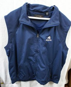 The Riviera Country Club Mens Windbreaker Vest Large