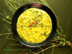 My Experiments With Food: Drumstick Leaves Lentil Curry/ Muringayila Parippu...