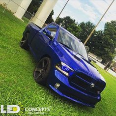 """1,507 Likes, 27 Comments - LED Concepts (@ledconcepts) on Instagram: """"The grass is ALWAYS greener with #LEDConcepts // This 2014 #Dodge #Ram R/T is looking RIGHT with…"""""""