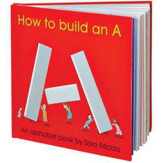 Awesome book on how to build letters The Met Store -  How to Build an A