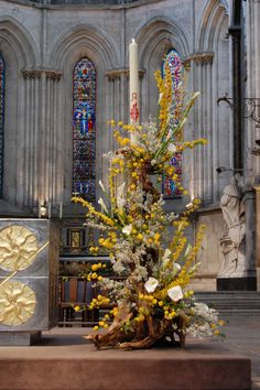 Stunning Floral Arrangement for Church