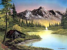 5 cosas que no sabíamos de Bob Ross, el pintor de árboles felices