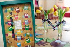 Adorable Owl themed ideas for Teacher Appreciation.