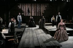 Long Wharf Theatre (cool set design, check out piano player)