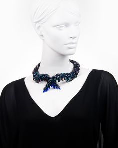 WINGED EMBRACE | colier statement fantezie