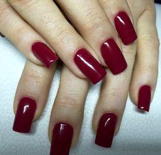 Rot#klassisch#long#nails#