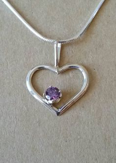 Black Friday deals include this petite heart from uniq jewelry, 20% off on every jewelry piece. Shop now! Check out this item in my Etsy shop https://www.etsy.com/listing/241845175/heart-w-amethyst-set-in-sterling-silver