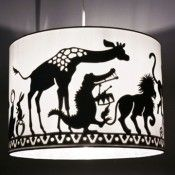 gorgeous lamp - the papercut image is on the inside so you only see it when you turn the light on