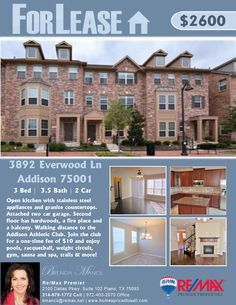 Just Listed in Addison 4/6/2016