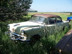 Abandoned '56 Buick Special