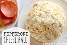 pepperoni cheese ball recipe