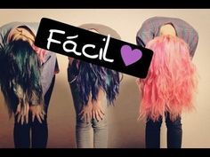 Cambiar de color tu cabello - Extracción de color fantasia - YouTube