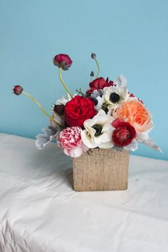 Preorder Valentine's Day Arrangement - Small by Primary Petals http://primary-petals.myshopify.com/