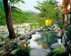 花の宿松や outdoor bath at Matsuya