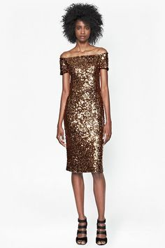 """""""A little sparkle would brighten even the Grinch's holiday season. This dress was made to celebrate in."""" — Jacey Duprie, Damsel In Dior"""