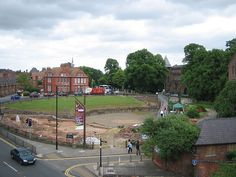 "According to historians think they have uncovered the site of the ""Round Table"" in Chester, England. The town was founded in the year 79. One of the main features of Diva Victrix was its large amphitheater that could hold between 8-10,000 people.  The article quotes Camelot Historian Chris Gridlow as saying, ""The first accounts of the Round Table shows that it was nothing like a dining table but was a venue for upwards of 1,000 people at a time"""