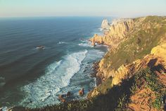 Cabo da Roca, Portugal Sintra Portugal, Cabo, Travel Inspiration, Places, Water, Outdoor, Gripe Water, Outdoors, Outdoor Living