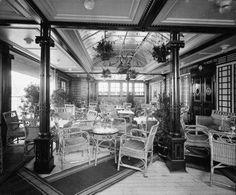 Verandah Cafe of the Mauretania