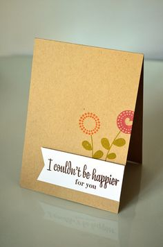 Couldn't Be Happier Card by Jess Witty for Papertrey Ink (January 2013)