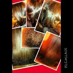 Natural Hair Healthy Hair Chemical free hair Silk Press Blunt Trim
