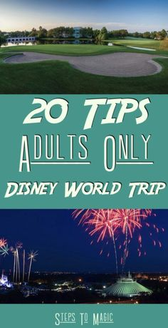 Have you ever thought that Walt Disney World is only for the families and kids? Well we have a few ideas for you! When you think about a visit to the WDW resort, the first thing that goes through your head are images of kids holding hands with Mickey as they skip through the Castle, …