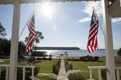 Ephraim's Water Street Inn, a landmark hotel built in 1896, offers recently renovated rooms and sweeping views of Eagle Harbor.