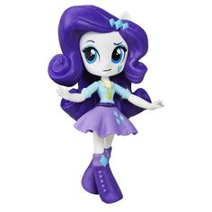 Amazon.com: My Little Pony Equestria Girls Minis Rarity Doll: Toys & Games