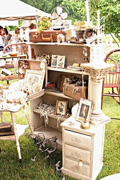 Warrenton - Round Top Antique Fair Texas.  April and October.  Best flea markets