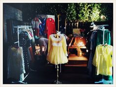 Deja Vintage booth at BadWill
