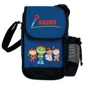 Super Why! Calling All Super Readers! Blue Lunch Bag