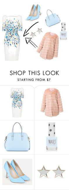 """""""Chic Frencé"""" by stylekittybeauty on Polyvore featuring moda, L.K.Bennett, storets, Kate Spade, Topshop, JustFab e Givenchy"""