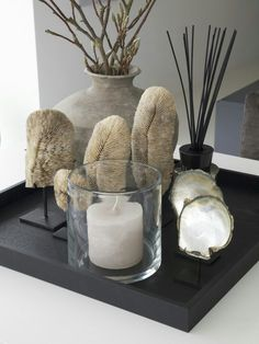 Sweet elegance #Beachwood joy of styling #candles